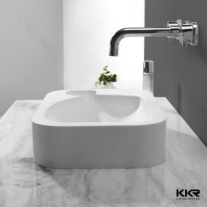 Kingkonree Above Counter Sink Solid Surface Bathroom Sink pictures & photos