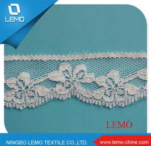 Fashion Design Jacquard Elastic Cord Lace pictures & photos