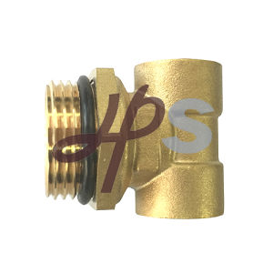 Brass 3 Way Fitting with Union for Floor Heating Brass Manifold System pictures & photos