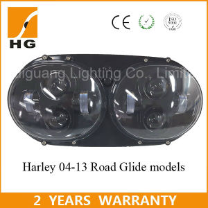 Dual LED Headlight 5.75inch for Harley Davidson Road Glide 2004-2013 pictures & photos