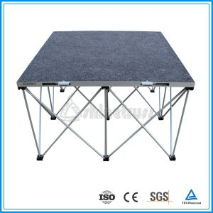 4′x4′ Stage Portable Folding Stage pictures & photos