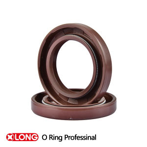 Double Lips FPM Brown Oil Seal for Motorcycle pictures & photos