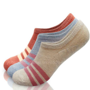 Customized Ladies Stealth Ship Socks Ankle Cotton Socks pictures & photos
