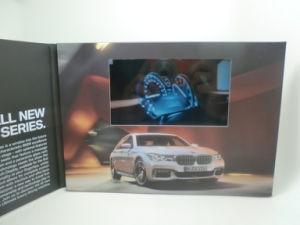 Video Brochure - Video Card with 5′′ HD Screen pictures & photos