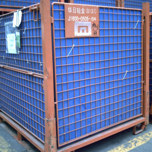 Warehouse Storage Metal Mesh Wire Cage pictures & photos