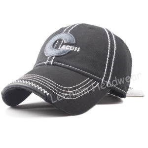Washed Felt Embroidery Baseball Custom Cap pictures & photos
