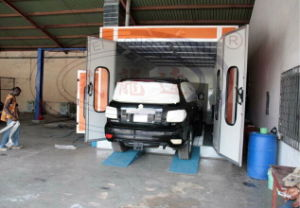 Auto Painting and Baking Booth Wld8200 CE for European Standard pictures & photos