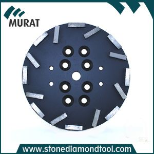 "10""/250mm Metal Bond Diamond Grinding Wheel with 16segment pictures & photos"