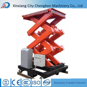 Small Fixed Scissor Lifts Made in China pictures & photos