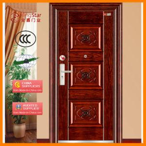 Steel Security Door with Elegant Design and Fine Price