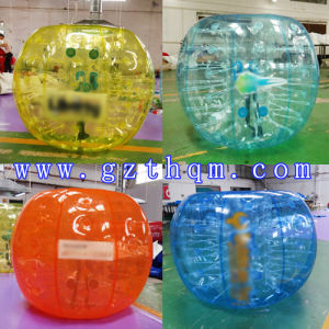 Color Transparent TPU Inflatable Bumper Ball pictures & photos