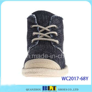 Cheap V-Casual Jean Upper Casual Shoes pictures & photos