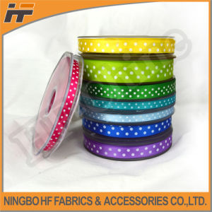 High Quality Satin Ribbon with DOT