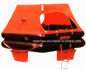 Marine Fishing Boat Use Throw Over Board Inflatable Life Raft pictures & photos