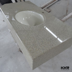 Customized Quartz Stone Vanity Top for USA Market pictures & photos