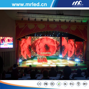 P7.62mm Full Color Perimeter LED Display Wall, Indoor LED Rental Display Screen pictures & photos