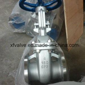 150lb 300lb Cast Stainless Steel CF8 Flange End Gate Valve
