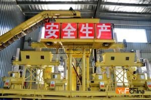 Vertical Ring Ring Die Pellet Making Line pictures & photos