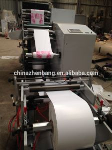 Two Color Stickers Flexo Printing and Die Cutting Machine pictures & photos