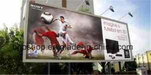 PVC Roll up Frontlit Flex Banner Canvas Printing (1000dx1000d 9X9 510g) pictures & photos