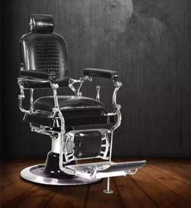 The King of Salon Furniture Reclining Salon Barber Chair for Sale (MY-A612) pictures & photos