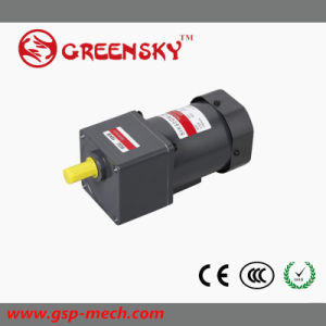 GS High Efficient 220V 60W 90mm Reversible AC Motor pictures & photos