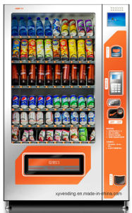 Coin-Operated & Bill Operated Vending Machine for Snacks and Drinks pictures & photos