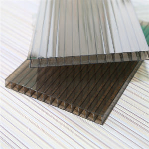 4 mm High Light Transmission Twin-Wall Polycarbonate Sheet pictures & photos