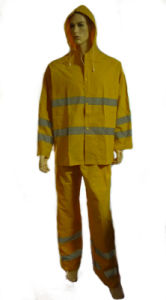 Rain Suit with Waterproof Feature, PVC Polyester pictures & photos