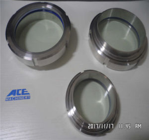 Stainless Steel Sanitary Cross Sight Glass with Union pictures & photos
