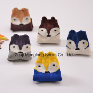 Fox Designs Cartoon Kid Cotton Socks Customed Designs Welcome