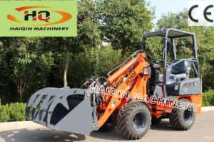 Haiqin Brand Ce Certificated Articulated Mini Loader (HQ908) with Digger pictures & photos