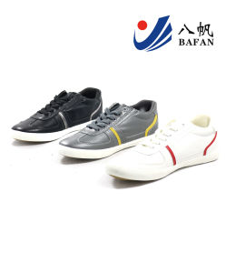 Men Fashion Casual Canvas Flat Running Travlling Shoes (bfm0384) pictures & photos