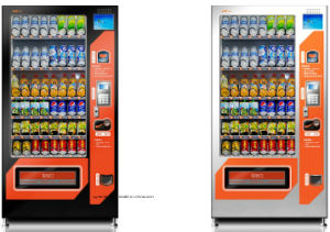 Medium Capacity Automatic Vending Machine by Coin and Bill Dispenser pictures & photos