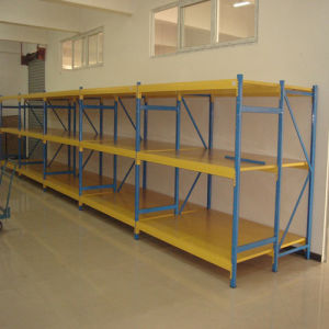 Display Rack Long Span Storage Steel Shelves for Warehouse pictures & photos