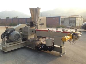 Masterbatch Parallel Twin Screw Plastic Product Extruder pictures & photos