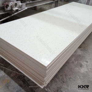 Top Quality Pure White Acrylic Modified Solid Surface pictures & photos