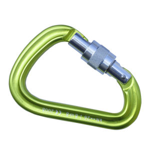 Pear Shape Aluminum Safety Carabiner, 26kn Karabiner pictures & photos
