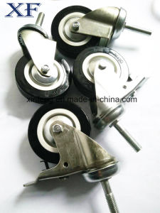 75mm Medium Duty Type PU Castor Wheel pictures & photos