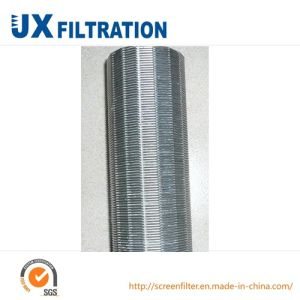 Stainless Steel Slotted Wedge Wire Screen pictures & photos