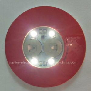 Promotional LED 3m Sticker Coaster with Logo Printed (4040) pictures & photos