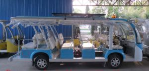 Electric Shuttle Bus, Mini Electric Train, CE Approved, Eg6158k pictures & photos