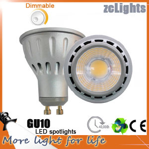Free Samples GU10 LED Spotlight High Lumen COB Soptlight (GU10-A7)