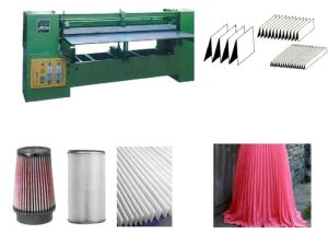 Universal Automatic Cloth Textile Fabric Finishing Pleat Machine pictures & photos