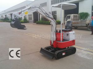 High Quality Farm Excavator (HQ08) with Cheap Price pictures & photos