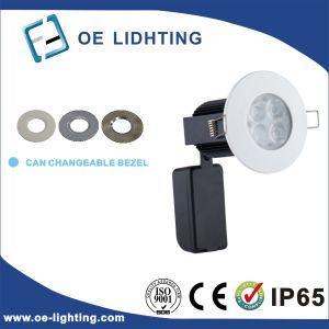 Quality Certification 10W Fire Rated Dimmable LED Downlight pictures & photos