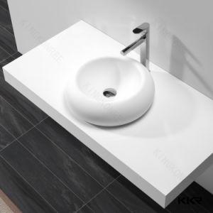 Matt Resin Stone Basin Above Counter Wash Basin Bathroom Sink pictures & photos