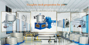 30 T/D Waste Paper Repulping Recycle Paper Stock Preparation Line pictures & photos