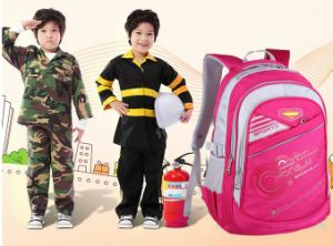 Five Colors Kid′s School Backpack Bags pictures & photos