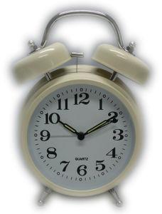 Horloge d'alarme jumelle de Bell (206)